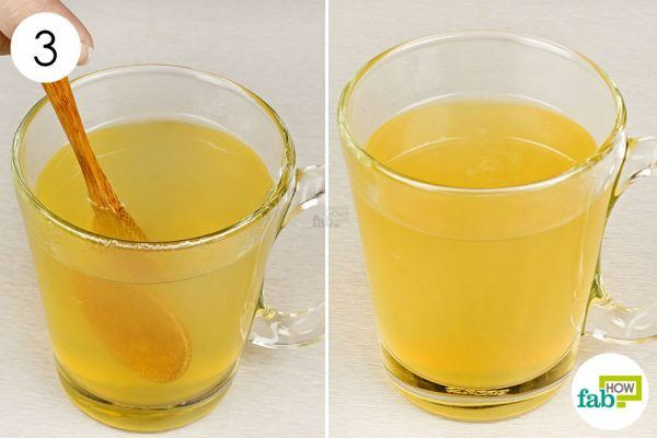 ginger tea to get rid of runny nose