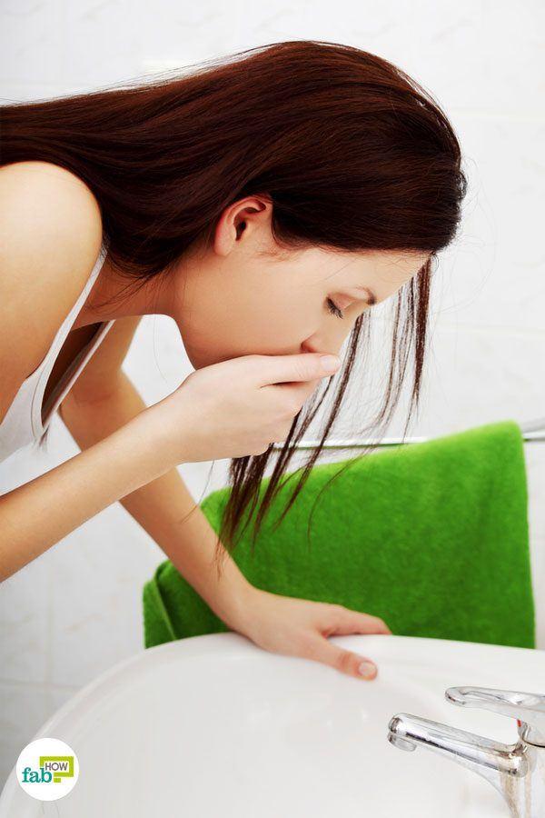 get rid of nausea