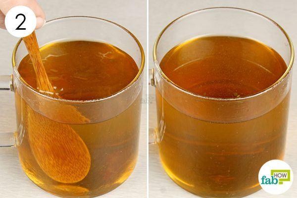 drink sage tea for runny nose