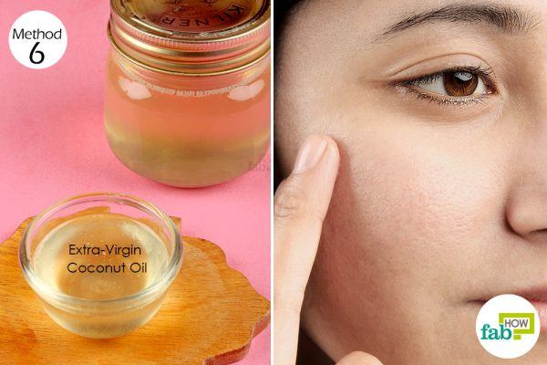 coconut oil for age spots