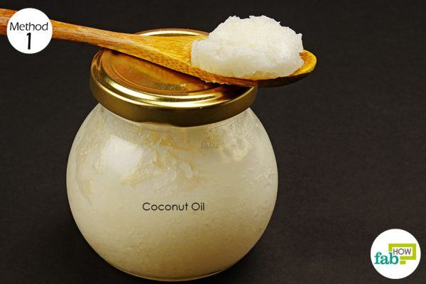coconut oil to treat cavities