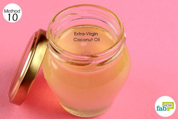 use coconut oil for skin ailments