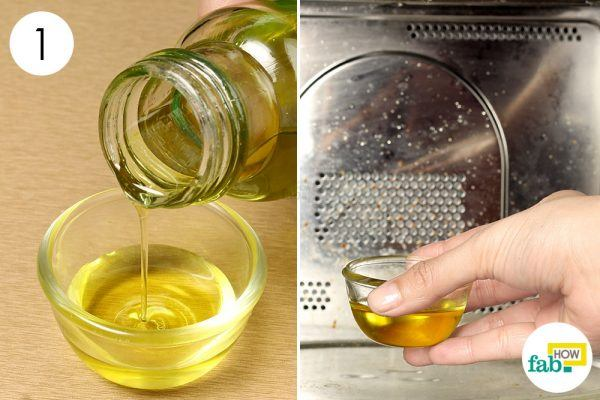 heat olive oil to get rid of chilblains