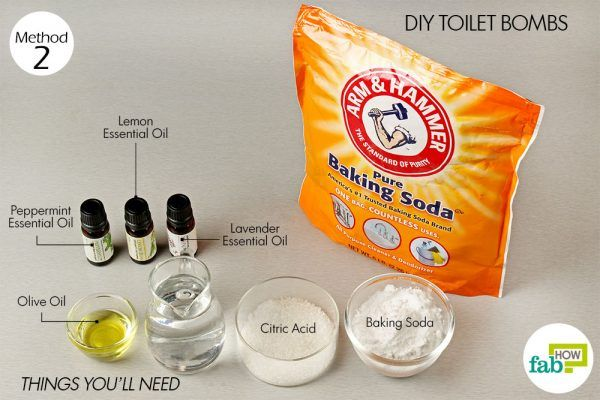 things need for cleaning with baking soda