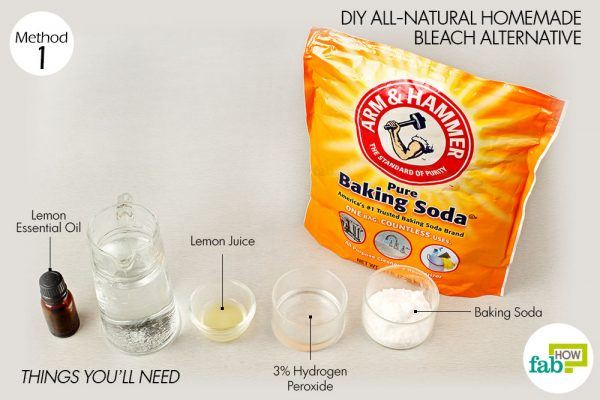 things need baking soda for laundry