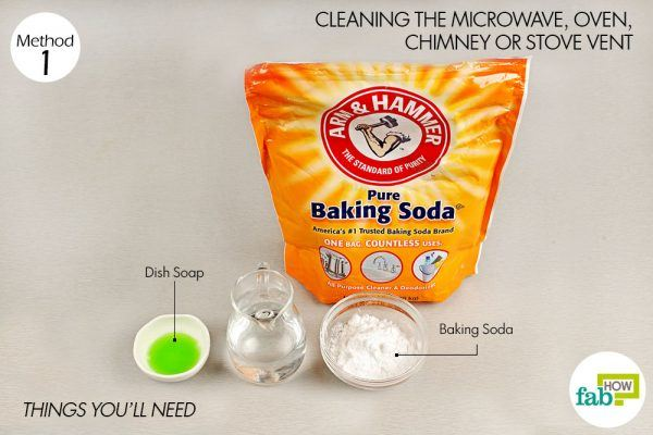 baking soda for cleaning things need