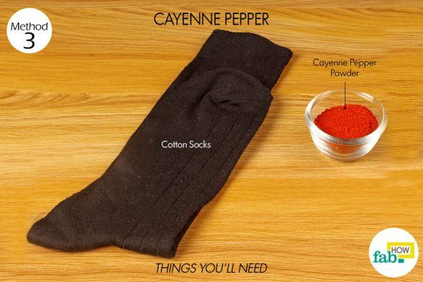 cayenne pepper for cold hands and feet