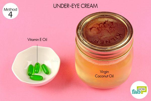 coconut oil for under-eye cream things need