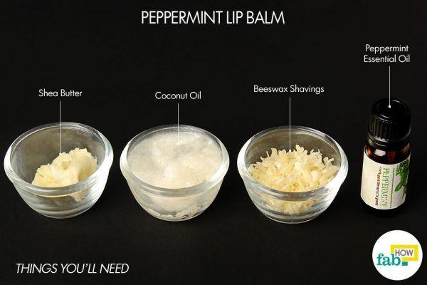 peppermint lip balm things need