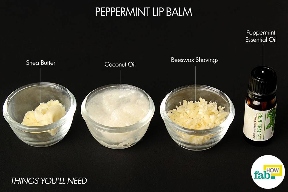 Peppermint Lip Balm Things Need Grated Beeswax 1 Tablespoon