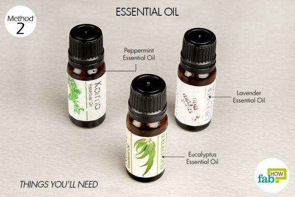 essential oil to get rid of runny nose