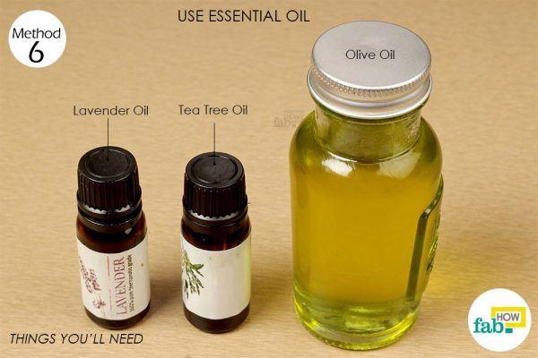 essentila oils to get rid of chilblains
