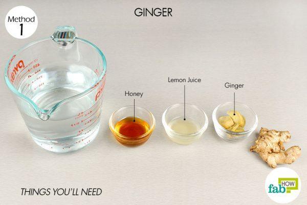 ginger tea for runny nose
