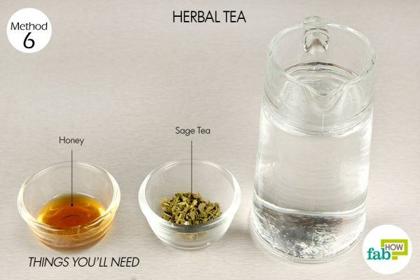 herbal tea to get rid of runny nose