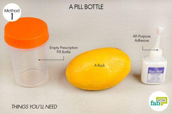 hide your keys in a pill bottle things need