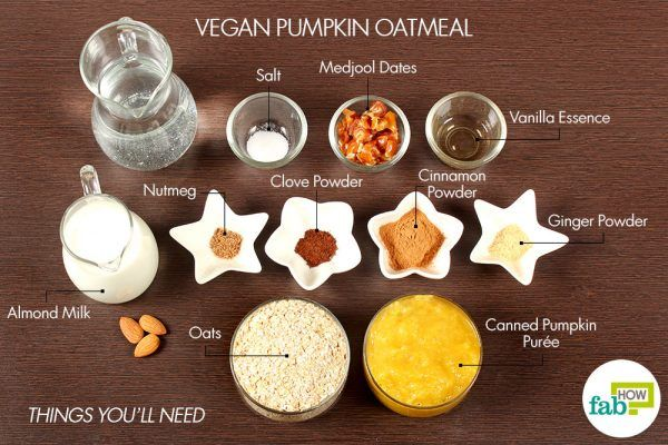 vegan ppumpkin oatmeal things need