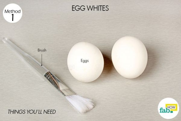 egg white to get rid of a fever thingsneed