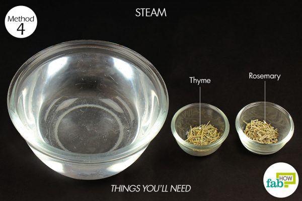 steam for phlegm