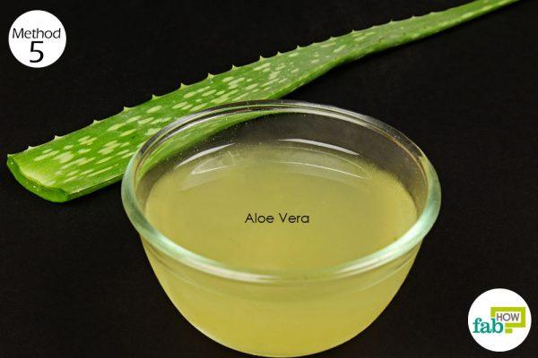 aloe vera to stop hair loss