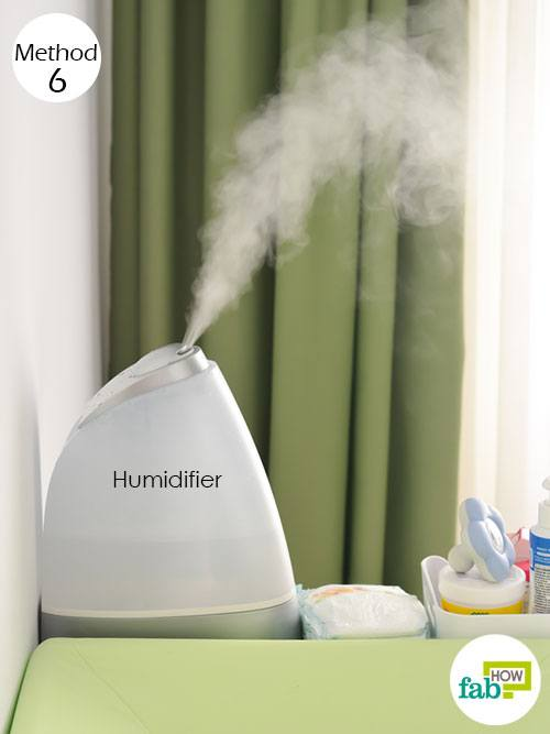 humidifier to get rid of dry mouth