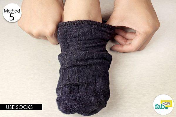 socks to get rid of chilblains