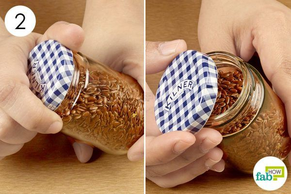 twist and open the stuck jar lid