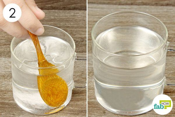 stir well and drink the baking soda water