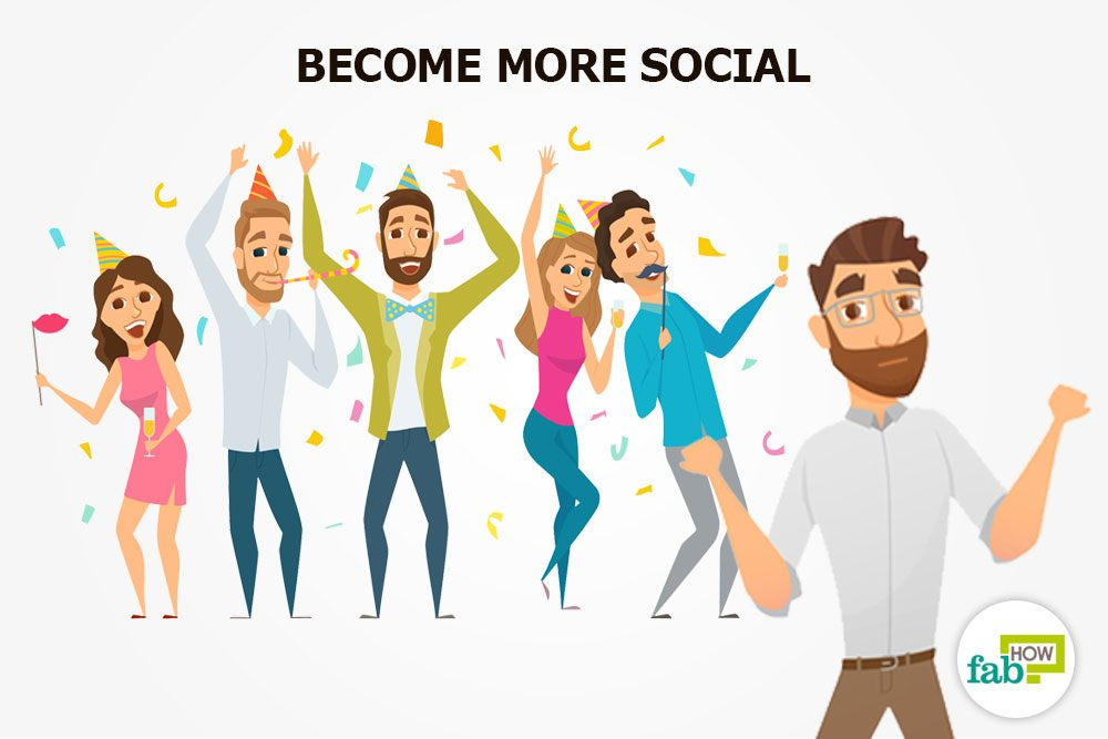 become sociable