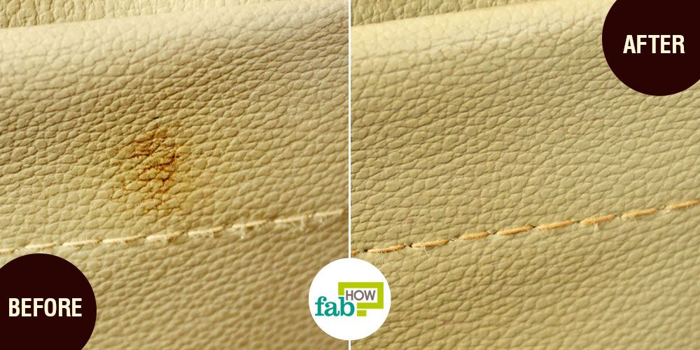 how to clean white leather car seats