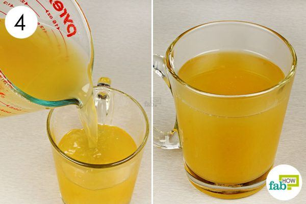 drink herbal ginger tea for relief from asthma