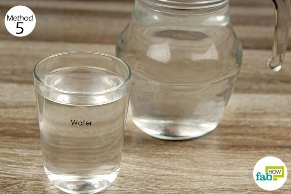 drink water to treat gout