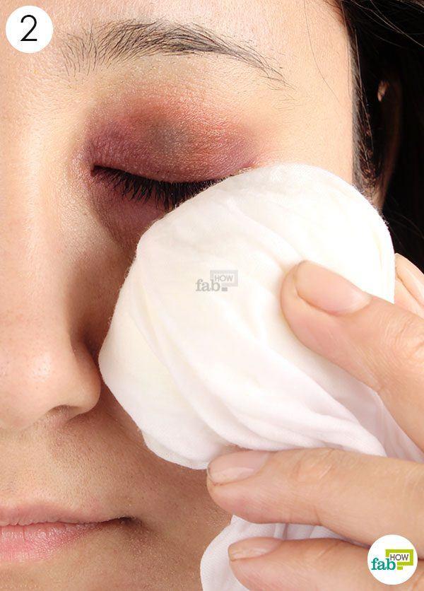 egg compress on black eye