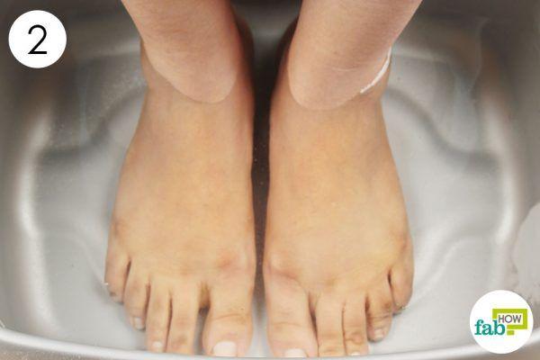 soak your sore muscles in epsom salt water