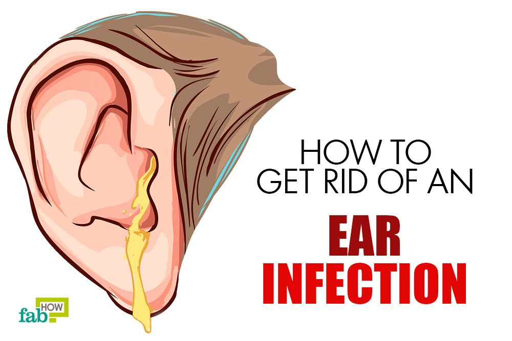 get rid of ear infection with home remedies