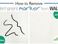 remove permanent marker from wall
