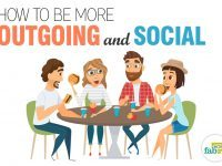 how to be more outgoing and social