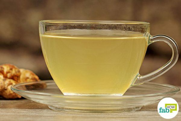 ginger water to treat gout