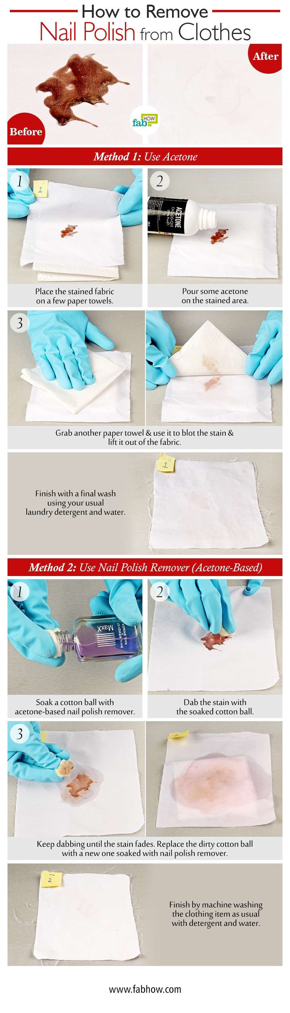 How to Remove Nail Polish from Clothes | Fab How
