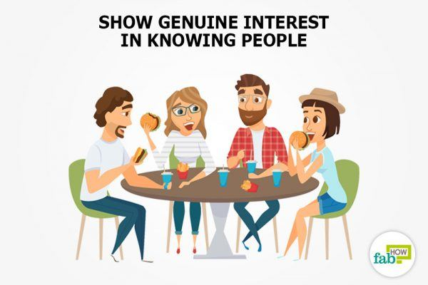 be interested in people