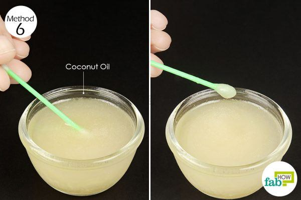 apply coconut oil to treat herpes