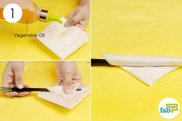 plastic in oil soaked paper towel to remove superglue from plastic. Black Bedroom Furniture Sets. Home Design Ideas