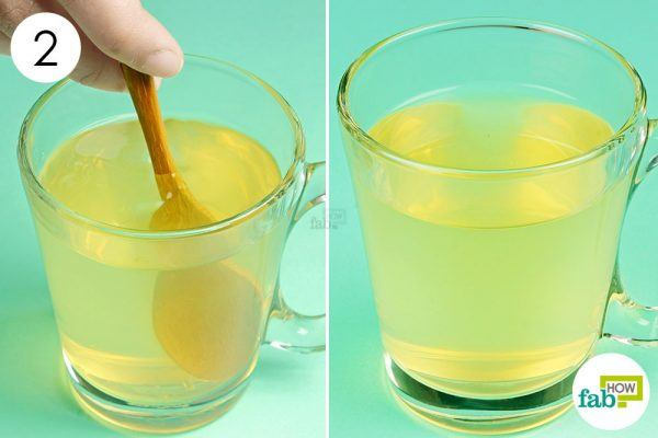 mix and consume acv and honey to treat indigestion