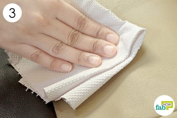 wipe the seats dry with paper towels