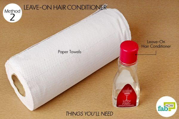 things you will need to clean leather boots using hair conditioner
