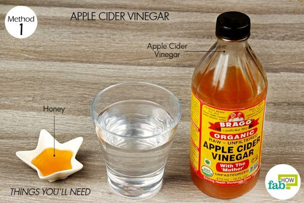 things you will need to get relief from gout pain using acv