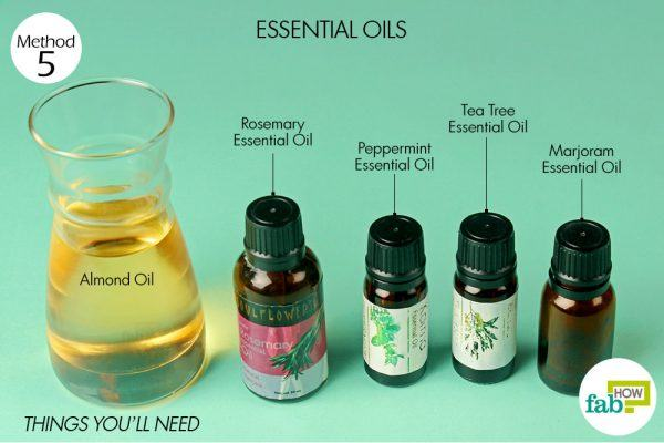things you will need for essential oil massage to get rid of sore muscles