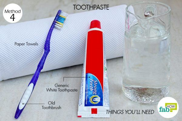things you need how to clean leather car seats toothpaste method