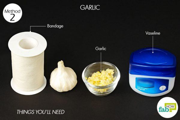 things you need how to get rid of skin moles garlic