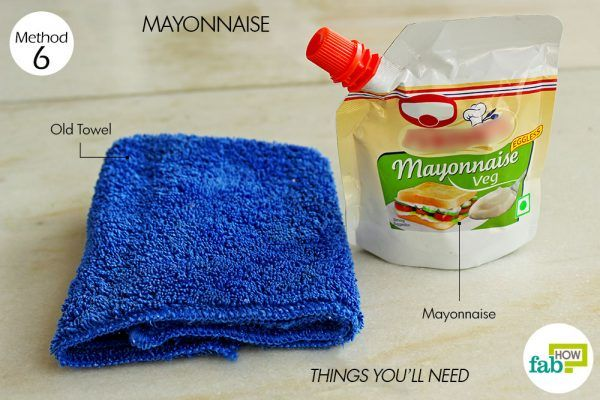 things you need how to remove crayon from walls mayonnaise method