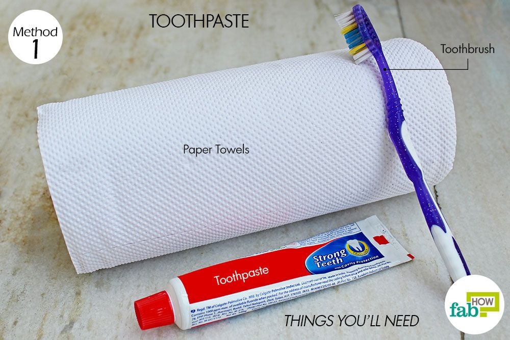 Things You Need How To Remove Crayon From Walls Toothpaste Method